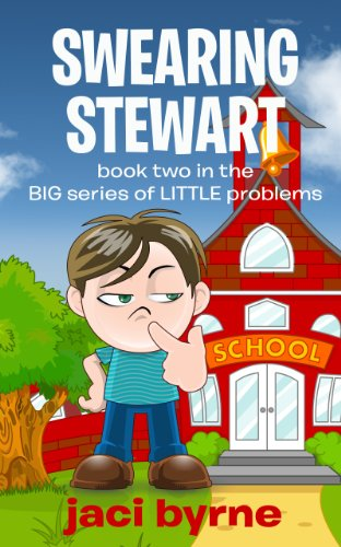 amazon com swearing stewart book two in the big series of little