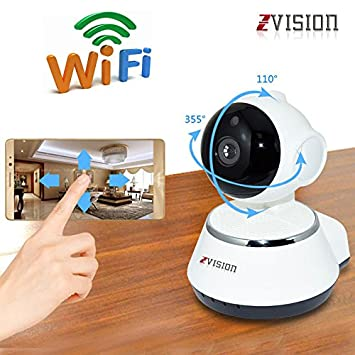 Buy ZVision HD 1.3MP Wireless IP Network CCTV Camera WiFi P2P Security  Surveillance Camera Night Vision IR Baby Monitor Motion Detection Alarm  Online at Low ... 0a060a0720