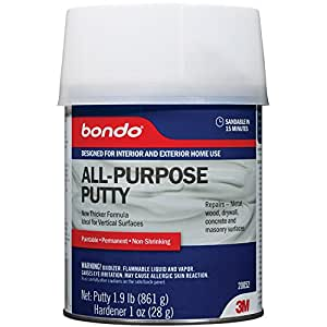 3M Bondo Home Solutions All Purpose Putty, 1-Quart