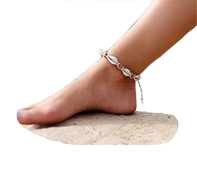 MingJun Boho Rune Starfish Anklet Buddha Foot Jewelry Ankle Bracelet For Women Summer Barefoot Beach Anklet IKg75MRF