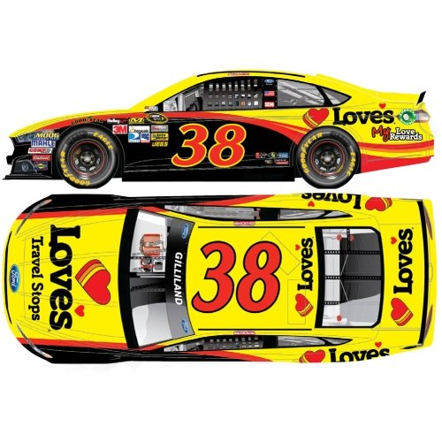 NASCAR David Gilliland #38 Love's Travel Stops 1/64 Kids Hardtop Car 2013