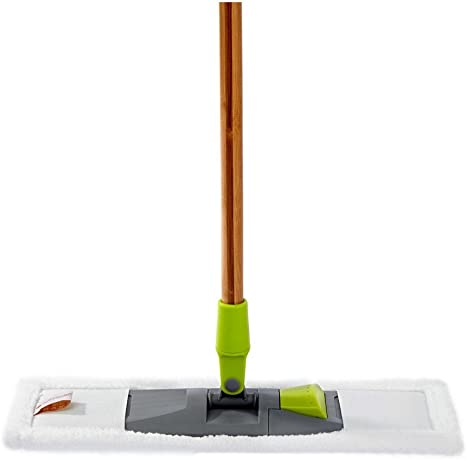 Amazon Com Full Circle Mighty Mop 2 In 1 Wet Dry Microfiber Head Green Home Kitchen