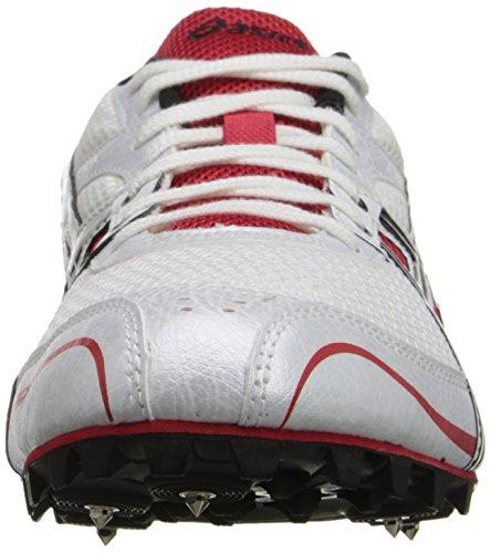 Asics, Scarpe da atletica leggera uomo White/Black/Flame