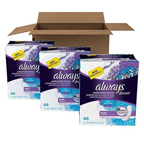 always-discreet-incontinence-pads-for-women-moderate-absorbency-regular-length-198-count