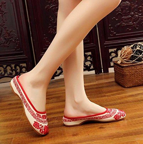 Estar Lona Mujer Casa Para Red De Lazutom Zapatillas Por fSq4x6w
