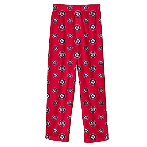 Outerstuff MLB Infant/Toddler Boys' Washington Nationals Printed Pant, Red, 3T