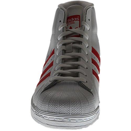 White Uomo Adidas A And Alto Promodel Red Collo Scarpe ff4xH