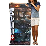 CHENGBANG Mass Effect 4 Poster Beach Towel For Adults