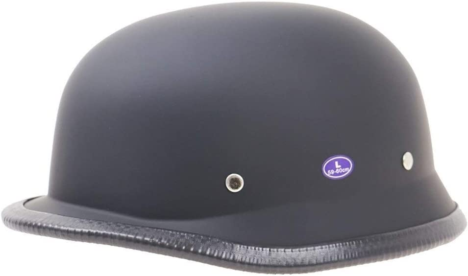 Color : A, Size : S= Half Motorcycle Helmet DOT Approved Open Face Motorbikes Helmet for Men Retro Motorcycle Cap for Mofa Crash Moped Scooter Cruiser 55~56CM