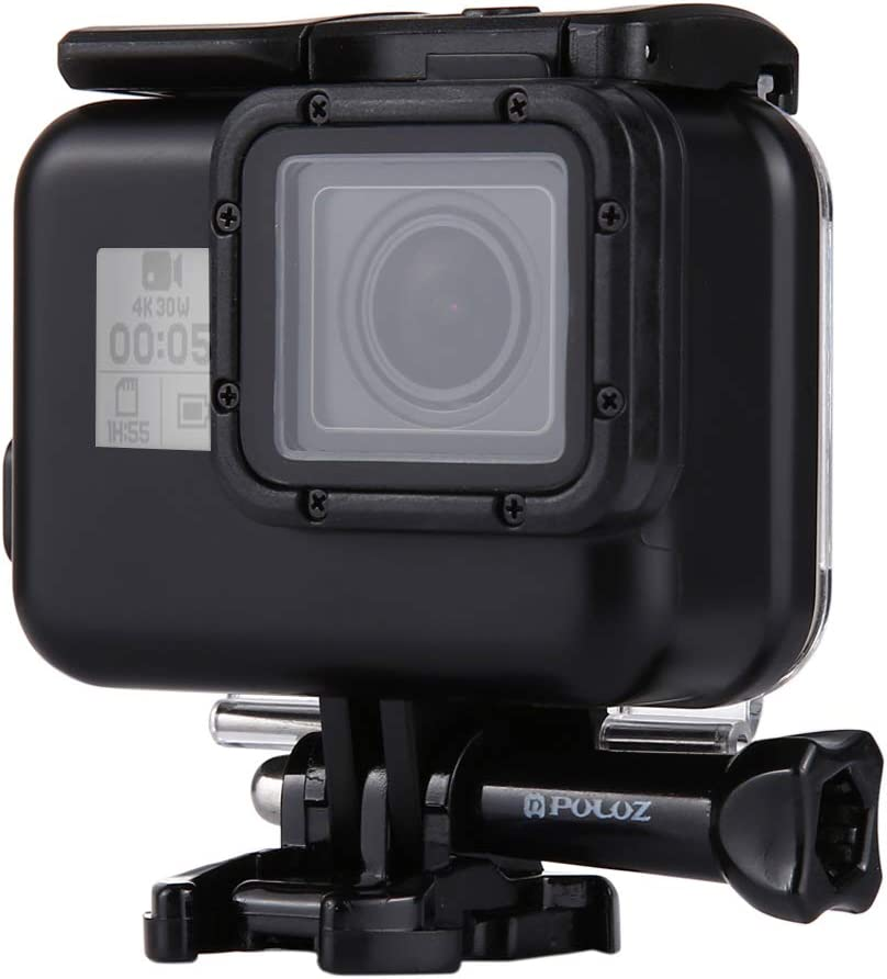with Buckle Basic Mount /& Screw 2018 CHENYANTUB Camera Accessories 60m Waterproof Housing Protective Case for for GoPro Hero Color : Color2 // HERO7 Black //6//5 No Need to Remove Lens