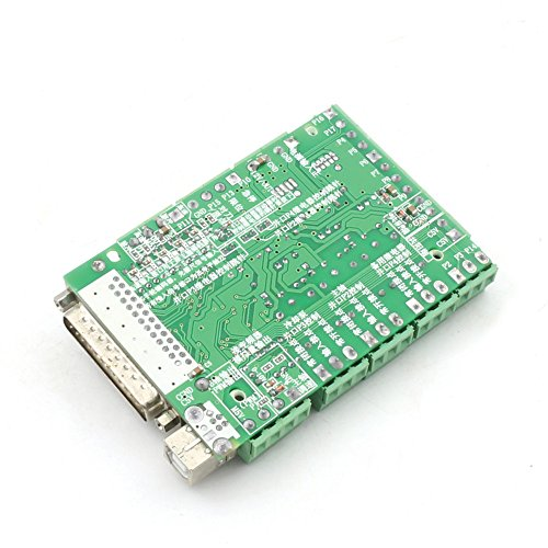 5 Axis Mach3 Stepper Motor Controller Board Breakout Board ...