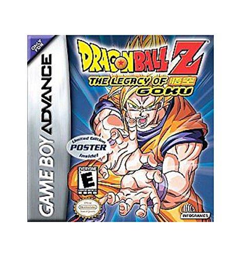 Dragon Ball Z: The Legacy of Goku - Game Boy Advance GBA Game