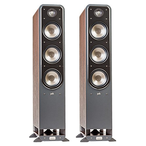 Polk Signature S60 American HiFi Home Theater Tower Speaker (Pair, Walnut) by Polk Audio