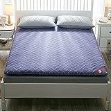 HYXL Non-slip padded floor tatami mattress,Floor cushion Pillow Pad Tatami living room carpets for bedroom dorm-B 100x200cm(39x79inch)