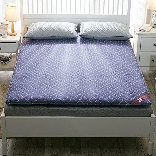 HYXL Non-slip padded floor tatami mattress,Floor cushion Pillow Pad Tatami living room carpets for bedroom dorm-B 100x200cm(39x79inch) by HYXL
