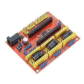 Arduino-Compatibile NANO V3 A4988 DRV8825 driver CNC Shield V4 Expansion Board