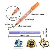 PuTwo Acrylic Paint Marker Pens 9 Pcs 8 Permanent