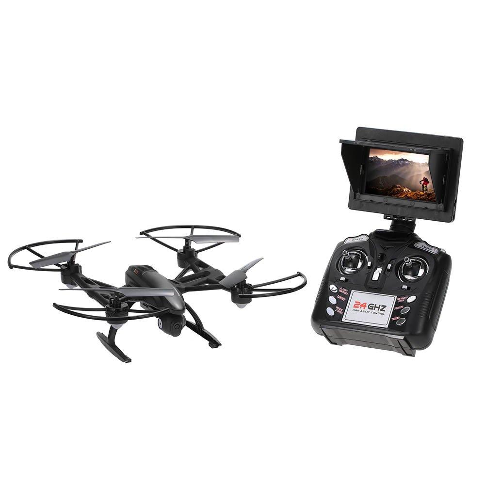 Goolsky JXD 509G 2,4 G 4CH girobussola 6-Axis 5,8 G FPV built-in altezza originale blocco volo RC Quadcopter con 2.0 MP fotocamera HD