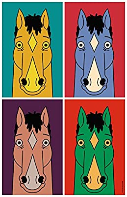 MOTIVATION4U BoJack Horseman, an American adult animated black comedy-drama series, Will Arnett, Diane Nguyen, Princess Carolyn 12 X 18 inch poster