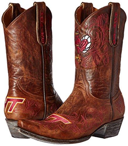 Ncaa Virginia Tech Hokies Dames 10-inch Gameday Boots Messing