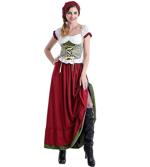 BOLAWOO-77 Damas Vestido Victoriano Medieval Festival ...