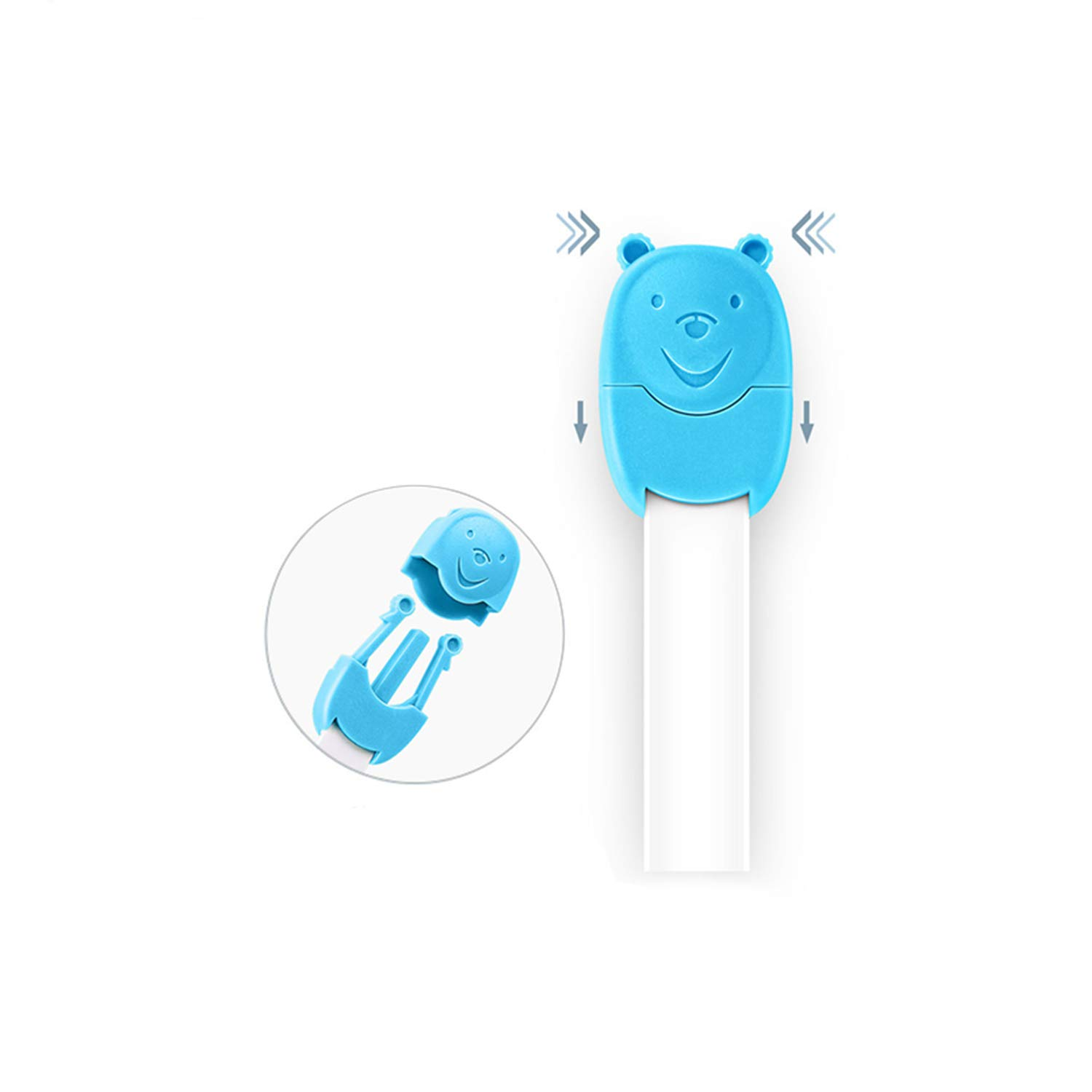 HelloUk Products Baby Safety Locks for Cupboard Doors Cabinets Drawer Fridge etc
