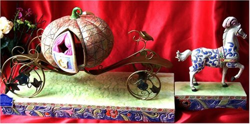 Jim Shore Disney's Cinderella Pumpkin Carriage