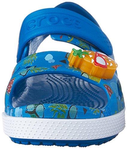 Crocs Kids Crocband II Pineapple Led Sandal
