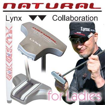 マーク金井 設計監修 レディス Lynx リンクス NATURAL PUTTER ナチュラル パター  33 B00DSLQOX0