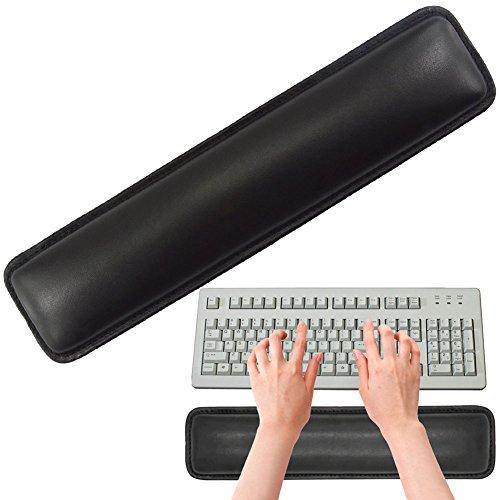 "Keyboard Wrist Rest, SOOKOO 14.5"" Non-Slip Soft Ergonomic Keyboard Wrist Wrist Cushion Pad for Keyboards, Office, Computer, Laptop, Ipad, Trackpad & Mac"