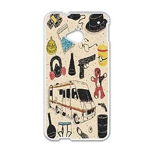 ZK-SXH - Breaking Bad Custom Case Cover for HTC One M7, Breaking Bad DIY Phone Case