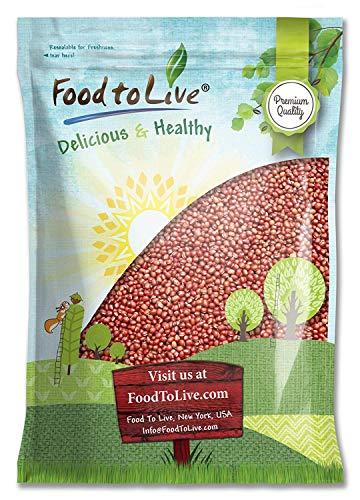 Adzuki Sprouting Beans, 5 Pounds