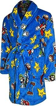 Super Mario Brothers Boys' Super Mario and Luigi Plush Blue