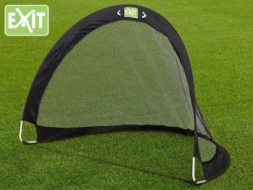 EXIT FLEXX POP-UP GOAL Fußballtor im schwarzem Exit Toys Design 40.00.01.00 / Falttor / Maße: 120 x 87 x 90 cm / Gewicht: 500g