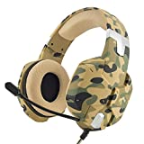 PS4 Gaming Headset, Jeecoo PC Gaming Headphones Over-ear Bass Xbox One Headset with Microphone for PS4 PlayStation 4 PC Laptop Smart Phone