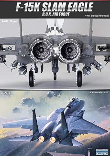 Academy Hobby Model Kits Scale Model : Airplane & Jet Kits (1/48 F-15K SLAM Eagle)