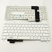 S-Union New White US Layout Laptop Replacement Keyboard for Samsung N210 N220 N250 Series Part Number 9Z.N4PSN.301 V114060AS1 CNBA5902706ABIH49CL