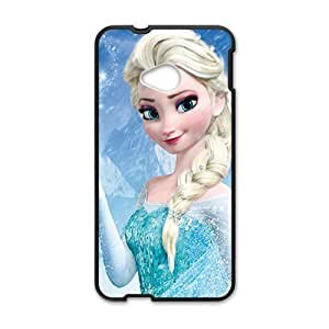 Frozen lovely girl Cell Phone Case for HTC One M7 Kimberly Kurzendoerfer