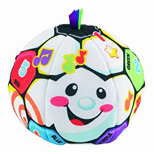 Fisher-Price Laugh & Learn Singin Soccer Ball - 51Ws5sf8wyL - Fisher-Price Laugh & Learn Singin' Soccer Ball