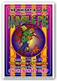 Dennis Loren Humble Pie Whisky-A-Go-Go Los Angeles 1971 Music Poster Print - 14x20