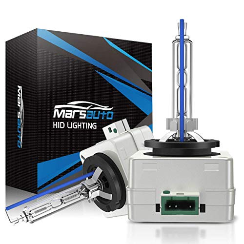 Marsauto D3S HID Bulb 6000K Xenon HID Replacement Bulb Diamond