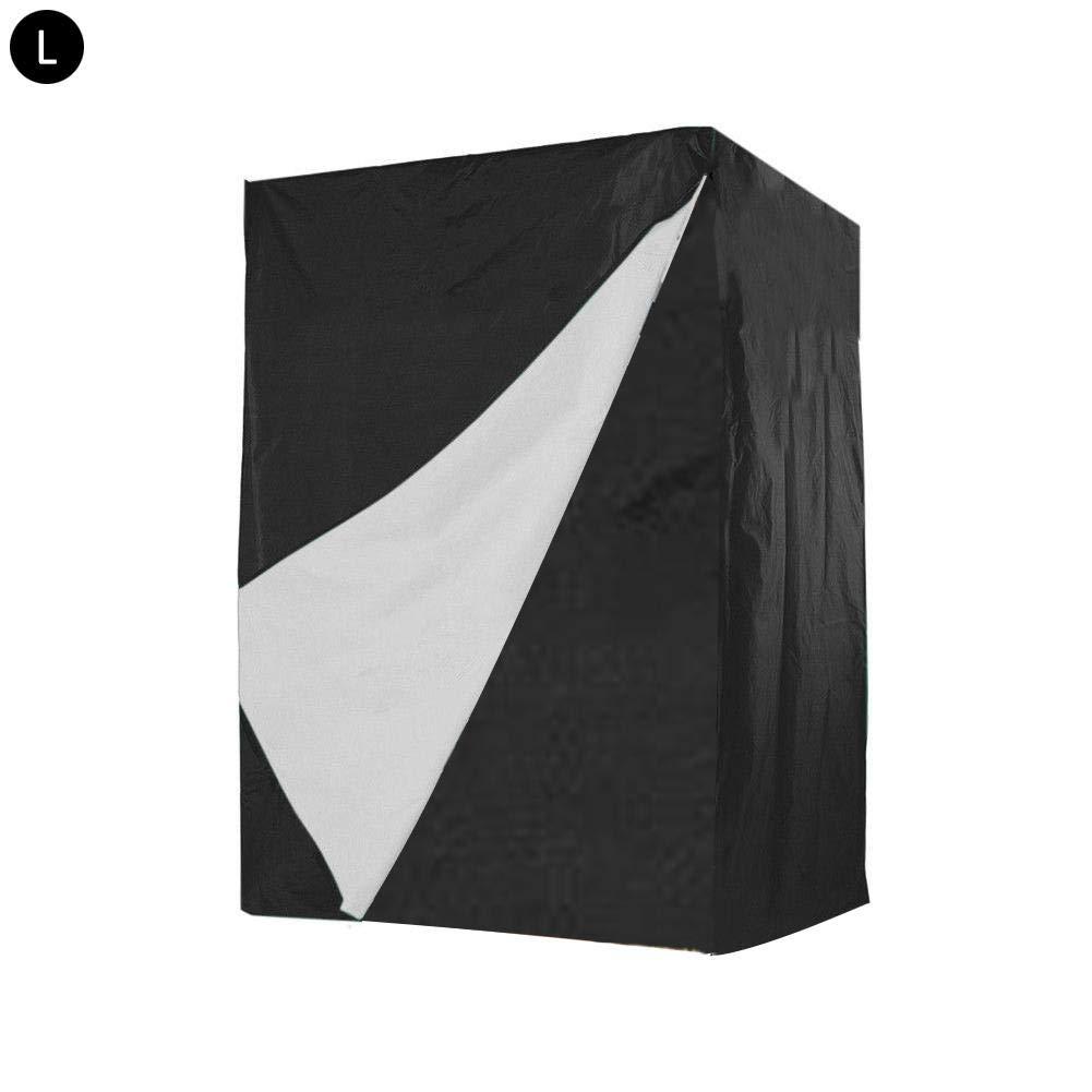 Luerme Outdoor Sitzbankbezug Protector Staubdicht und Wasserdicht Gartenstuhl Protector Cover Universal Schutzhü lle UV-Schutz fü r Outdoor-Bä nke und Wohnmö bel