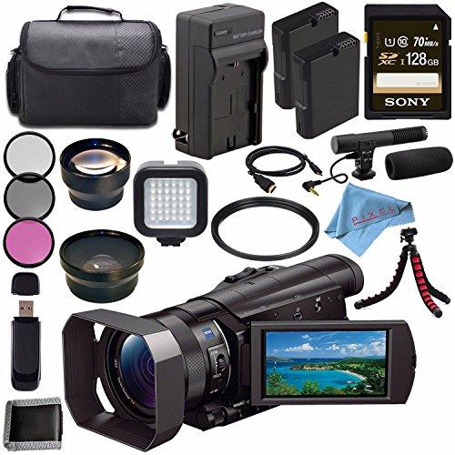 Sony HDR-CX900 HDRCX900/B Full HD Handycam Camcorder  + Rech