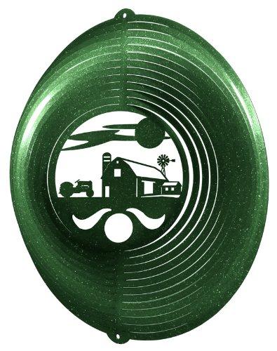 - FARM CIRCLE TRACTOR Swirly Metal Wind Spinner