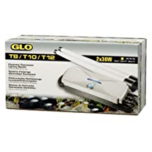 GLO A1575 T8/T10/T12 Electronic Fluorescent Lighting System for 2 x 30 W T8, T10 or T12 Bulbs