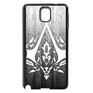 Samsung Galaxy Note3 Black phone case Assassins Creed LOOG Fashion players preferred OKE0514229