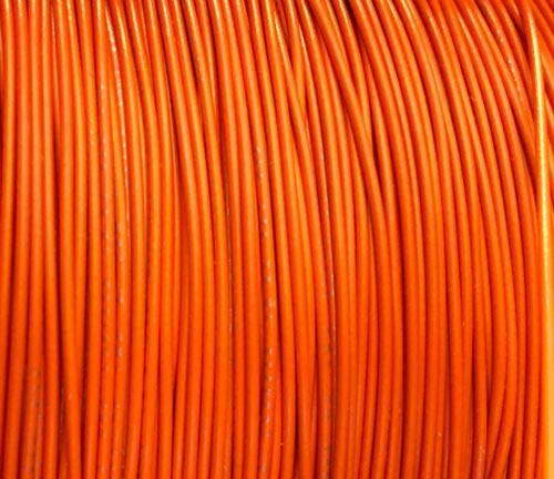 JumpingLight 1000 Reel UL1007 20 AWG Orange Hook Up Lead Primary Wire TINNED Stranded 300V Cables Electronic Stranded Wire Cable Electrics DIY