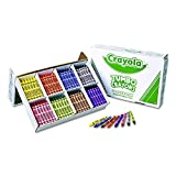 Crayola Jumbo-Sized Crayons Classroom Pack - Set of 200 - Assorted Colors