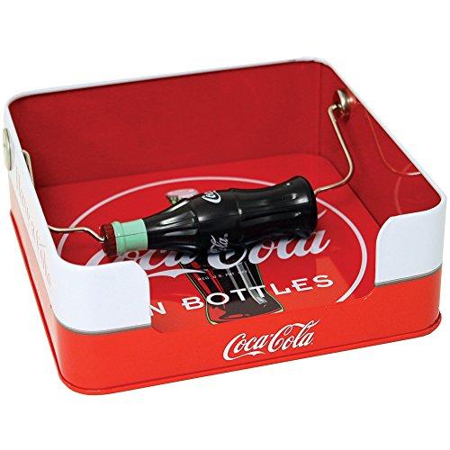 Home Decor Coka Cola Napkin Dispenser with spin bottle New for (Coca Cola Advertising Tray)