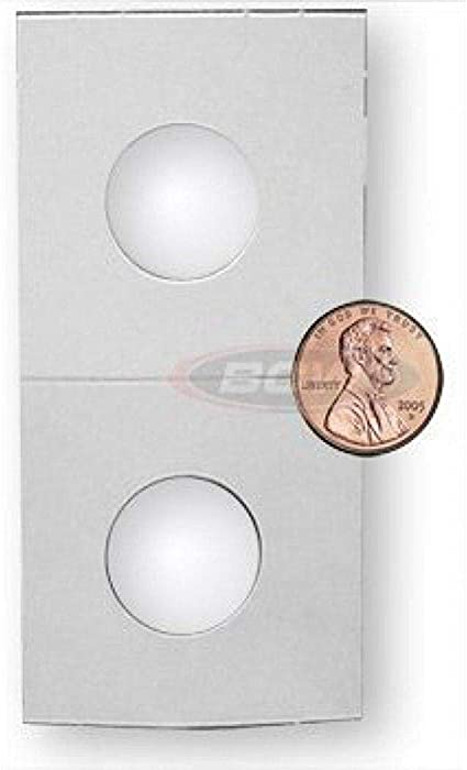 2 BCW 2x2 Penny Coin Snap Holders